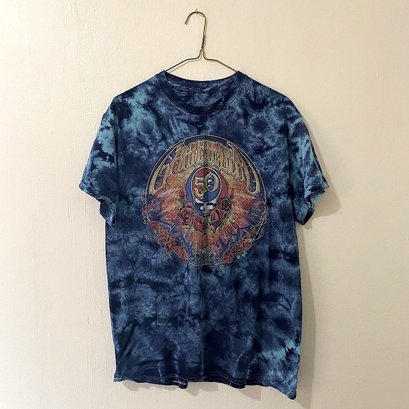Tye Dye Grateful Dead T-shirt- sz sm